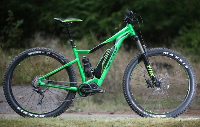 Merida e big trail 500 hire bike
